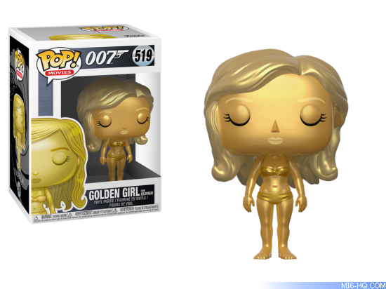 James Bond Golden Girl Pop! Vinyl Figure #519