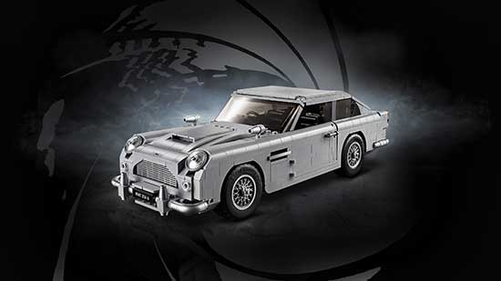 Aston Martin DB5 In Lego
