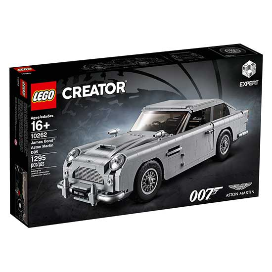 James Bond Aston Martin DB5 LEGO Creator Expert set