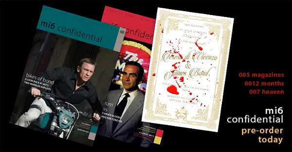 MI6 Confidential James Bond magazines