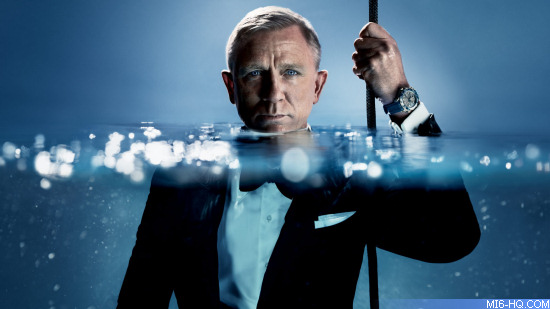 James Bond Omega 007 Daniel Craig