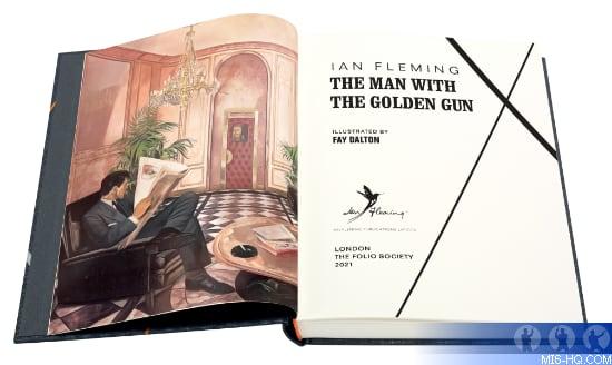 The Man With The Golden Gun Folios Society