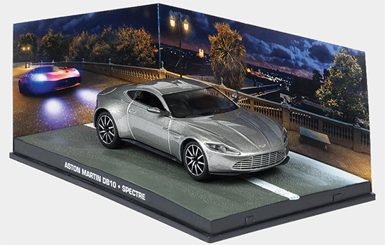 Bond in Motion Bond magazine features Aston Martin DB10 from SPECTRE