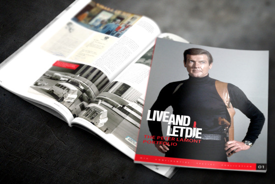 Live And Let Die - The Peter Lamont Portfolio  - MI6 Confidential Magazine
