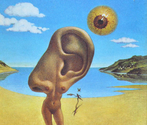 Colonel Sun's Dali-esque artwork