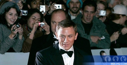 Daniel Craig at the Casino Royale world premiere in Leicester Square