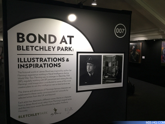 Bond at Bletchley Park