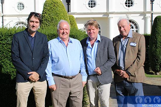 Neal Purvis, Robert Wade, Peter Lamont and John Glen