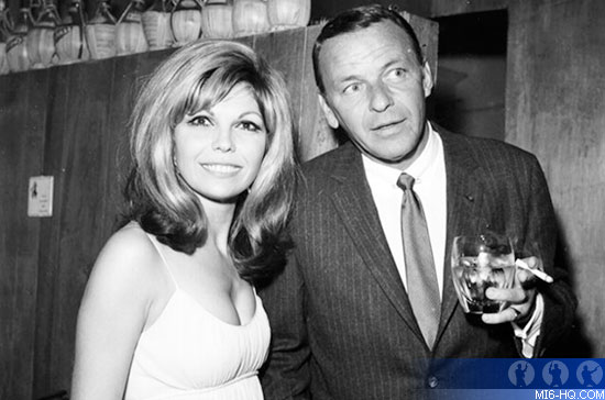 Frank and Nancy Sinatra