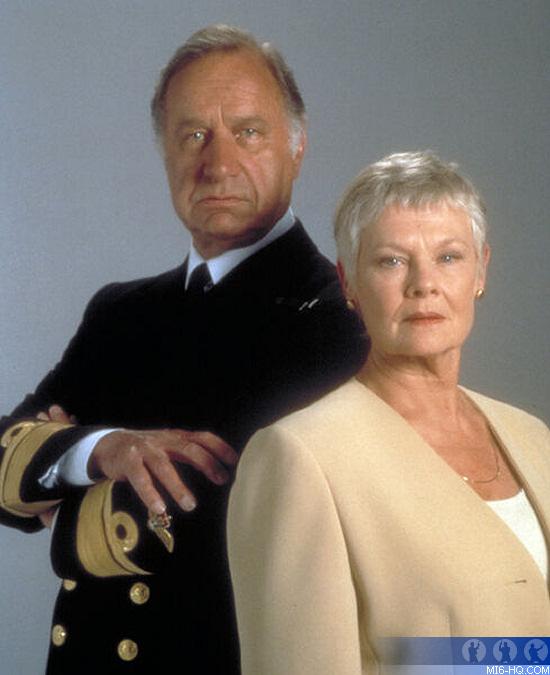 Geoffrey Palmer Admiral Roebuck Tomorrow Never Dies