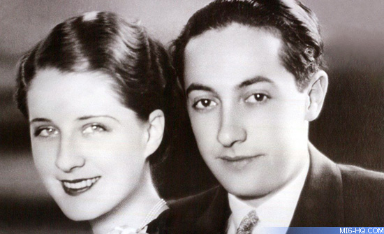 Irving Thalberg and wife Norma Shearer