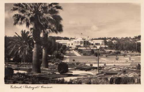 Casino Estoril as Fleming would have seen it in 1941.  Courtesy of Câmara Municipal de Cascais.