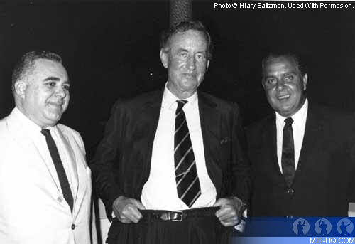 Cubby Broccoli, Harry Saltzman, and Ian Fleming