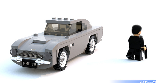 Lego James Bond 007 Aston Martin DB5