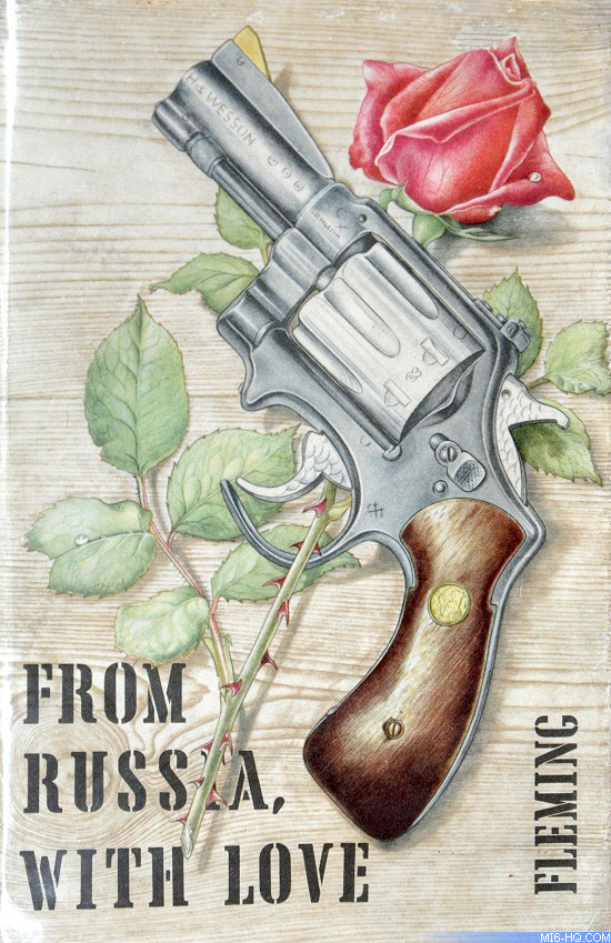 Ian Fleming From Russia With Love cover by Richard Chopping