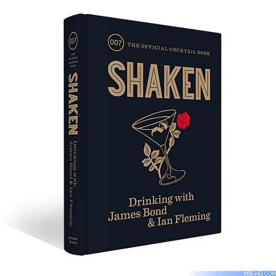 Shaken James Bond cocktail book