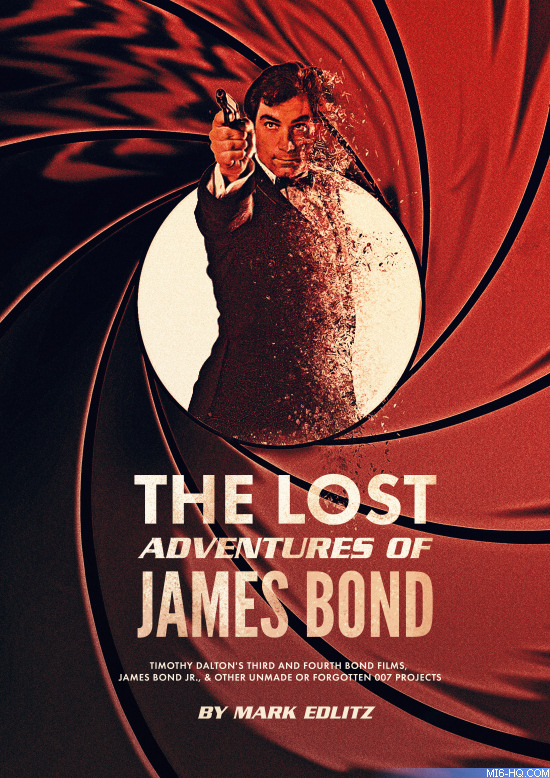 The Lost Adventures of James Bond - by Mark Edlitz