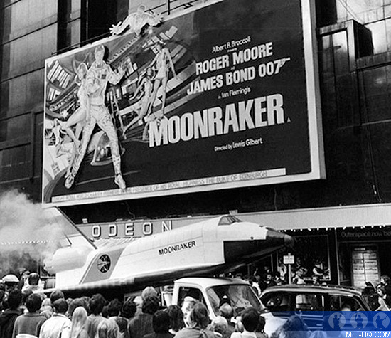 James Bond Moonraker Premiere