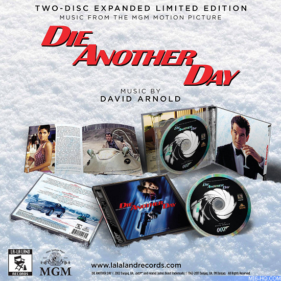 Die Another Day expanded soundtrack score David Arnold