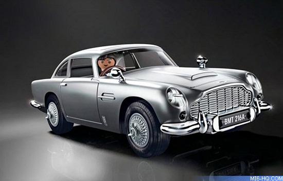 Playmobil Aston Martin DB-5 Goldfinger Edition Car model 70578