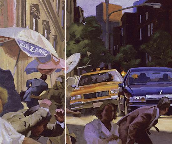 Playboy art for Raymond Benson James Bond 007 short story Blash from the Past