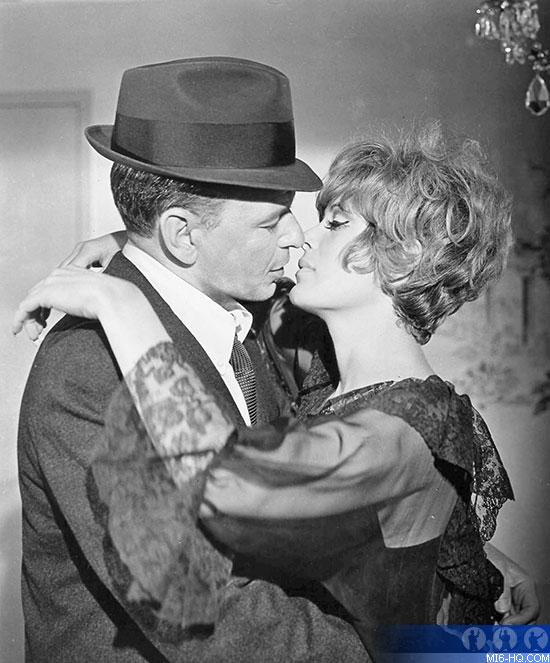 Frank Sinatra and Jill St John