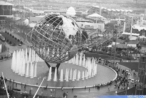Flushing Meadows, site of the 1964-65 world fair.