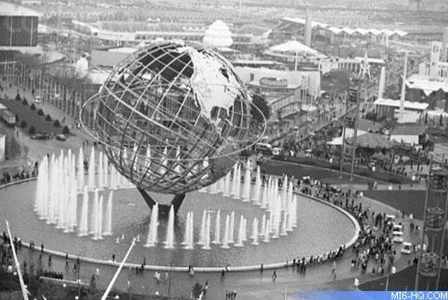 Flushing Meadows, site of the 1964-65 world fair.