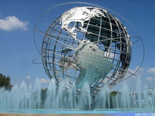 The famous Unisphere is still standing today