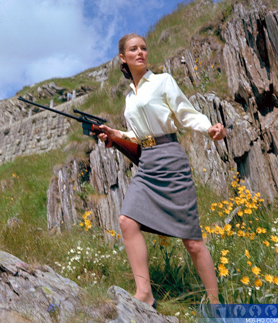 Tania Mallet as Tilly Masterson in Goldfinger
