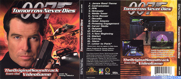 Tomorrow Never Dies Videogame Official Soundtrack OST