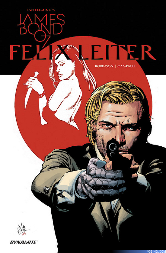 Felix Leiter comic book hardcover