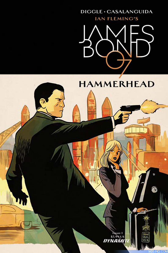 James Bond Hammerhead Issue #1