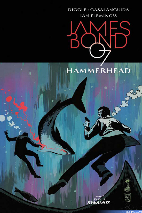 James Bond Hammerhead Issue #2