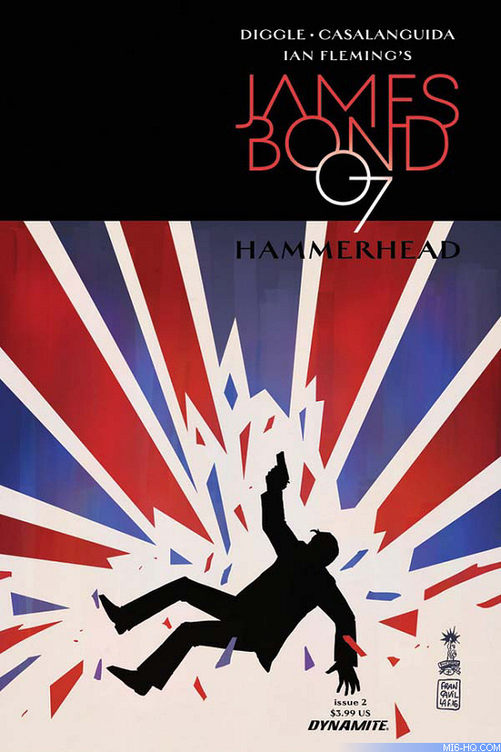 James Bond Hammerhead Issue #3
