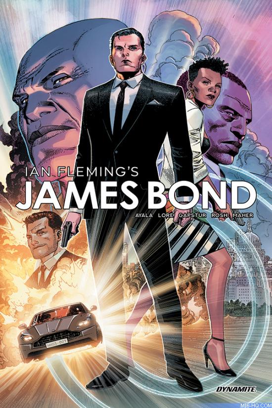 James Bond Volume 3 comic book hardcover