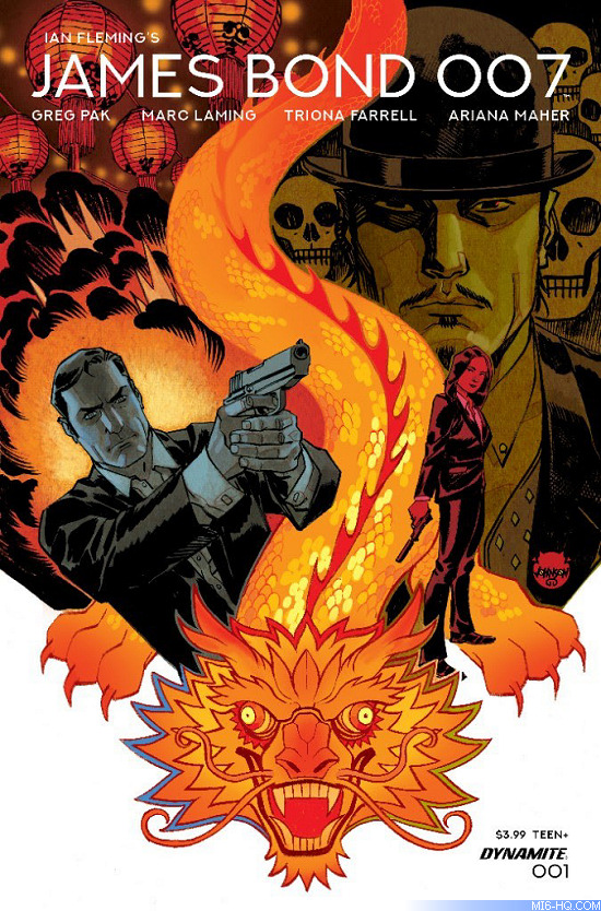 Dynamite Comics James Bond 007 Issue 1