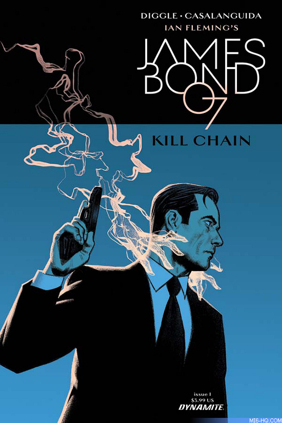 James Bond 007 Kill Chain comic book