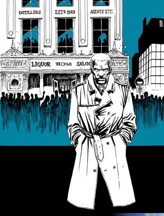 James Bond M Dynamite Comics One Shot