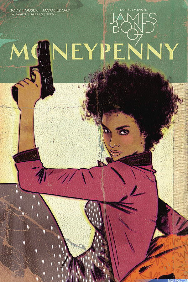James Bond: Moneypenny comic book special