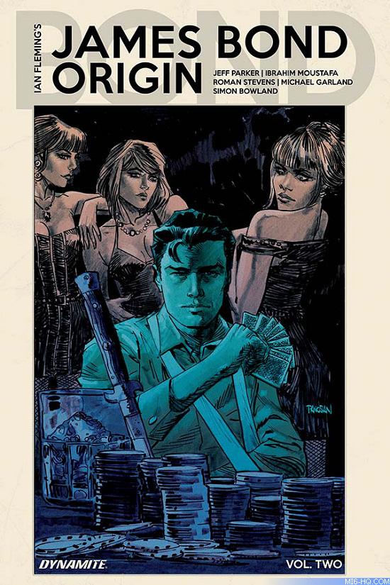 James Bond Origin comic book hardcover