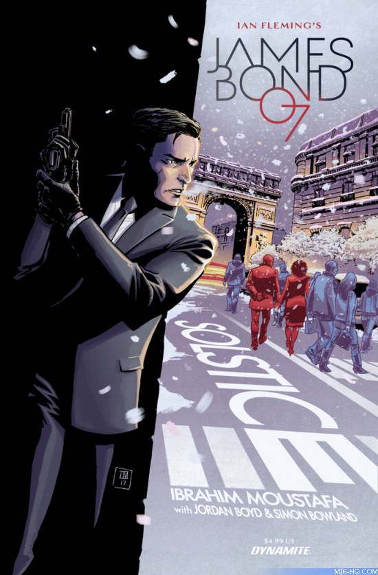 James Bond Solstice comic book cover
