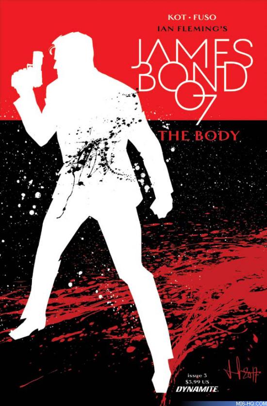 James Bond The Body comic book