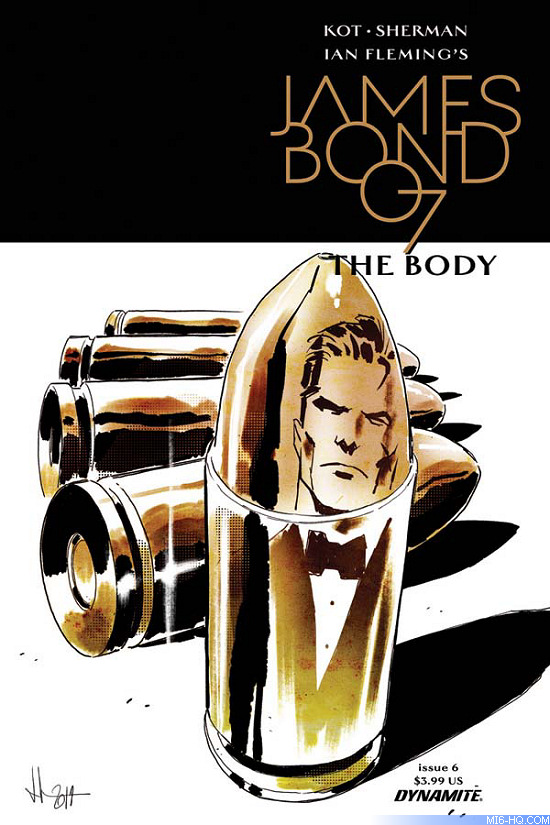 James Bond The Body comic book