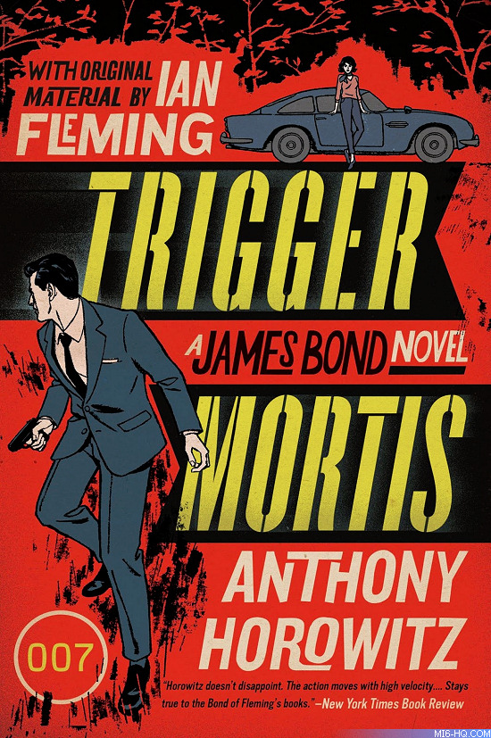 Trigger Mortis US paperback artwork