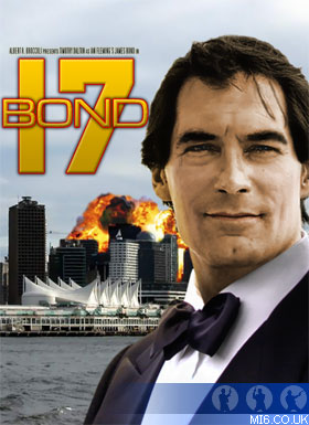 Bond 17 starring Timothy Dalton
